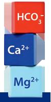 Mineralstoffe: Calcoium, Magnesium, Hydrogencarbonat